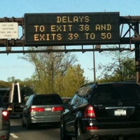 Photo taken at Long Island Expressway (LIE) (I-495) by Jessica E. on 9/7/2011