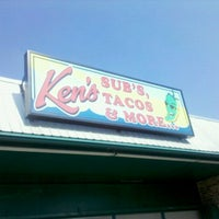 Photo taken at Ken's Subs, Tacos & More by Albert P. on 8/31/2011