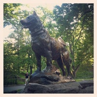 Photo taken at Balto Statue by Anton T. on 5/20/2012