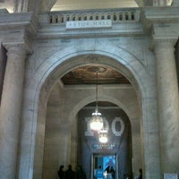 Photo taken at New York Public Library - Columbus Library by Astrid R. on 11/3/2011