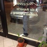 Photo taken at La Perla Pizzeria by Federico T. on 2/18/2012