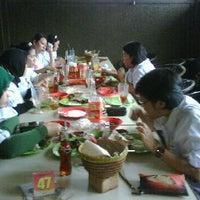 Photo taken at RM. Ampera by Ardiansyah F. on 6/1/2011