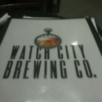 Photo taken at Watch City Brewing Co. by jeff s. on 10/4/2011