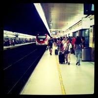 Photo taken at RENFE Passeig de Gràcia by Carlota V. on 7/23/2011