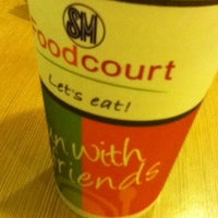 Photo taken at Food Court by Xtinah J. on 8/6/2012