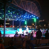 Photo taken at Waterside Stage by Ama F. on 8/24/2011