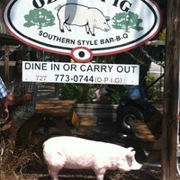 Photo taken at The Ozona Pig by Jel H. on 9/2/2012