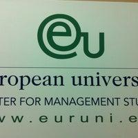 Photo taken at EU Business School Barcelona - European College by Tato N. on 3/6/2012