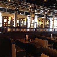 Photo taken at BJ's Restaurant and Brewhouse by Juliette T. on 5/18/2012