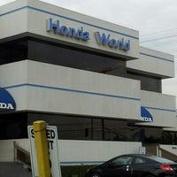 Photo taken at Honda World Downey by Kristina J. on 9/5/2012