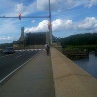 Photo taken at Pelham Bridge by Iggy L. on 7/27/2012