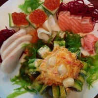 Photo taken at Sushi Katana by Christina K. on 8/14/2012