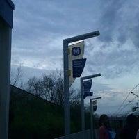 Photo taken at MetroLink - Wellston Station by Ladyb C. on 3/19/2012