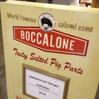 Photo taken at Boccalone Salumeria by Leeann F. on 6/3/2012