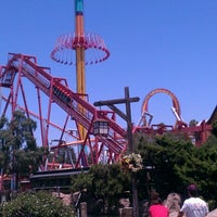 Photo taken at Knott's Berry Farm by Hans W. on 7/11/2012