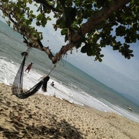 Photo taken at Batu Ferringhi Beach by Kee J. on 7/10/2012