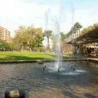 Photo taken at Parque Inés de Suárez by José C. on 5/11/2012