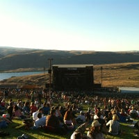 Photo taken at The Gorge Amphitheatre by Clara M. on 9/2/2012