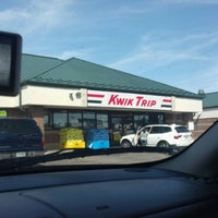 Photo taken at Kwik Trip by Benjamin S. on 8/11/2012