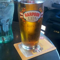 Photo taken at Harpoon Tap Room by Christian M. on 6/14/2012