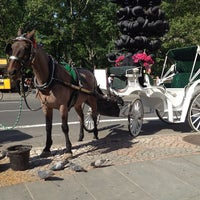 Photo taken at Grand Army Plaza by Michelle K. on 5/18/2012