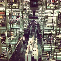 Photo taken at Biblioteca Vasconcelos by La Muñe on 4/1/2012