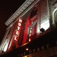 Photo taken at Drake Hotel by Mick Y. on 2/15/2012