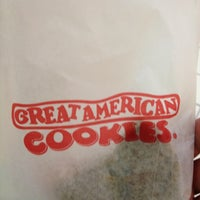 Photo taken at Great American Cookies by K onda on 2/17/2012