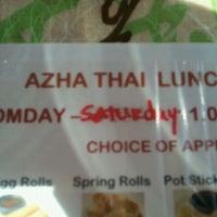 Photo taken at Azha by Bojangles M. on 10/3/2011