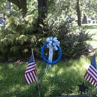 Photo taken at Erie Cemetery by Cresha F. on 6/5/2011