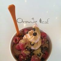 Photo taken at Orange Leaf Frozen Yogurt by Ryan B. on 9/8/2011