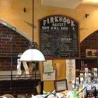 Photo taken at Firehook Bakery by Greg B. on 7/6/2012