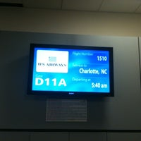 Photo taken at Gate D11 by Wes B. on 8/20/2012