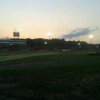 Photo taken at Delaware International Speedway by Aaron C. on 8/18/2012