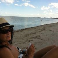 Photo taken at Gimli Public Beach by Randy on 8/17/2012