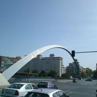 Photo taken at Puente de Ventas by Pablo R. on 8/22/2012