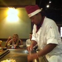Photo taken at Genji Japanese Steakhouse - Dublin by Ron D. on 8/12/2011