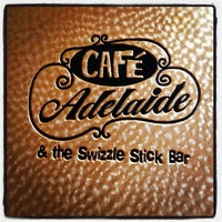 Photo taken at Café Adelaide & the Swizzle Stick Bar by Billy H. on 6/20/2012