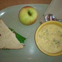 Photo taken at Saint Louis Bread Co. by Krista W. on 8/26/2012