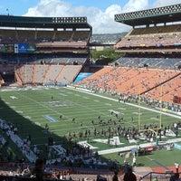Photo taken at Aloha Stadium by Munz A. on 9/4/2011