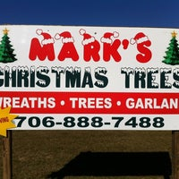 Photo taken at Mark's Christmas Trees by Andy W. on 11/11/2011