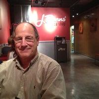 Photo taken at J Burns Pizza Shop by David H. on 1/20/2012