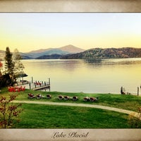 Photo taken at Lake Placid Lodge by Wil S. on 1/1/2012