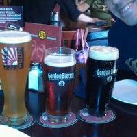 Photo taken at Gordon Biersch Brewery Restaurant by Brandon D. on 8/11/2012