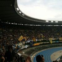 Photo taken at Stadio Marc'Antonio Bentegodi by Massimo M. on 5/19/2012