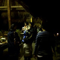 Photo taken at Hmong Hilltribe Lodge Chiang Mai by Pomme P. on 12/28/2011
