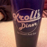 Photo taken at Kroll's Diner by Robert P. on 12/23/2011