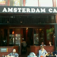 Photo taken at Amsterdam Cafe by JB D. on 10/13/2011
