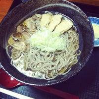 Photo taken at 冷たい肉そば専門店かほく by waiz on 9/7/2012