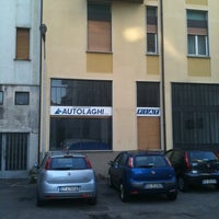 Photo taken at Autolaghi S.p.A. by Davide P. on 2/9/2011